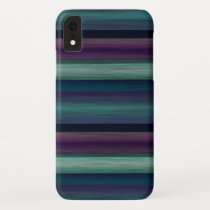 Cool Artistic Geometric Watercolor Art Pattern iPhone XR Case