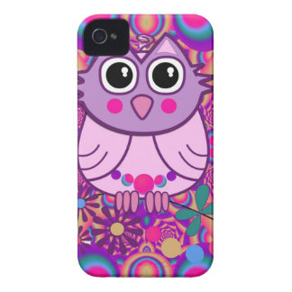 Cool artistic Owl IPhone 4 case