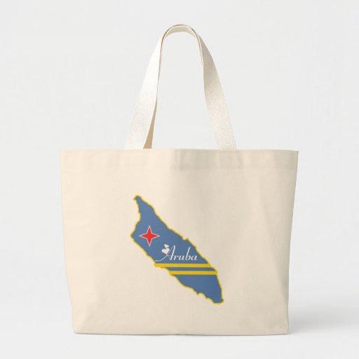 Cool Aruba Jumbo Tote Bag
