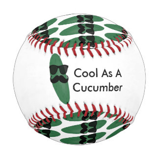 Cool As A Cucumber Baseball