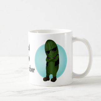 Cool As A Cucumber Coffee Mug