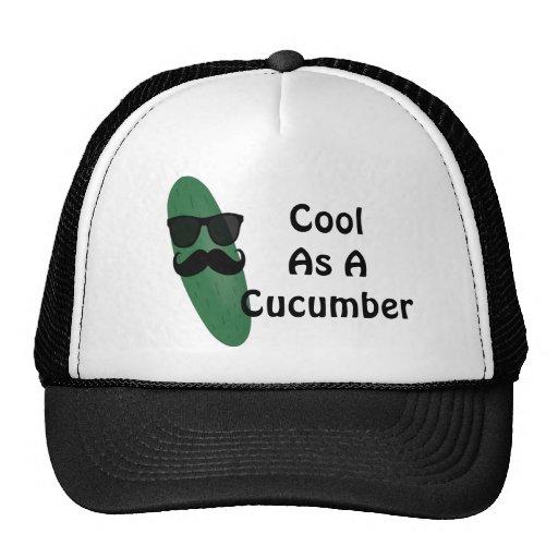cool as a cucumber trucker hat