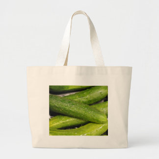 cool As A cucumber Large Tote Bag