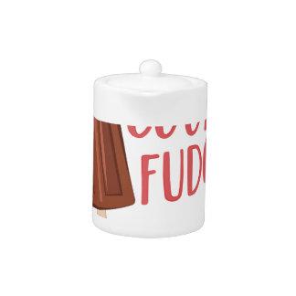 Cool As Fudge Teapot