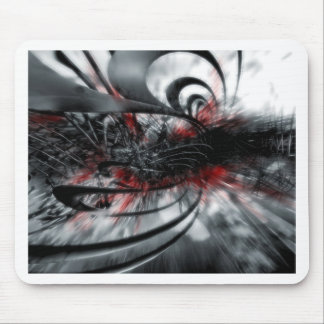 Cool Assassins Creed Abstract Mouse Pad