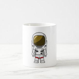 Cool Astronaut Cartoon Design Coffee Mug