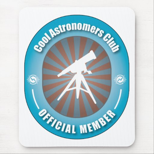 Cool Astronomers Club Mouse Mat