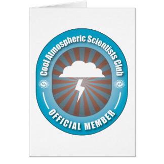 Cool Atmospheric Scientists Club Greeting Card