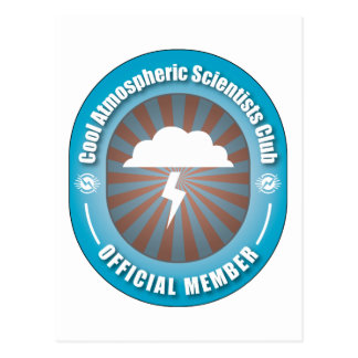 Cool Atmospheric Scientists Club Postcard