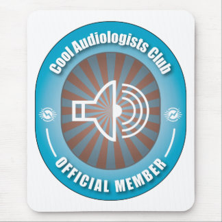Cool Audiologists Club Mouse Pad