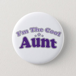 Cool Aunt Pinback Button