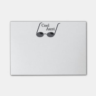Cool Aunt Post-it® Notes