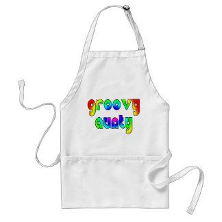 Cool Aunts Christmas & Birthdays : Groovy Aunty Adult Apron