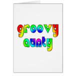 Cool Aunts Christmas & Birthdays : Groovy Aunty Greeting Cards