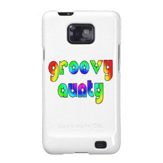 Cool Aunts Christmas & Birthdays : Groovy Aunty Samsung Galaxy SII Covers