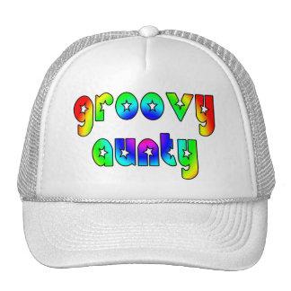 Cool Aunts Christmas & Birthdays : Groovy Aunty Trucker Hat
