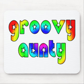 Cool Aunts Christmas & Birthdays : Groovy Aunty Mouse Pad