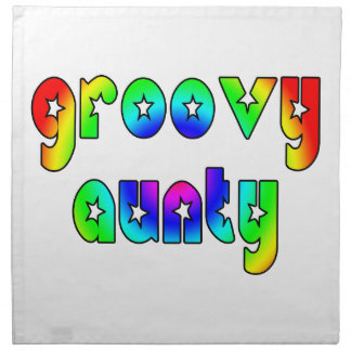 Cool Aunts Christmas & Birthdays : Groovy Aunty Napkins