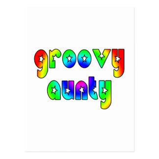 Cool Aunts Christmas & Birthdays : Groovy Aunty Postcard