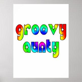 Cool Aunts Christmas & Birthdays : Groovy Aunty Posters