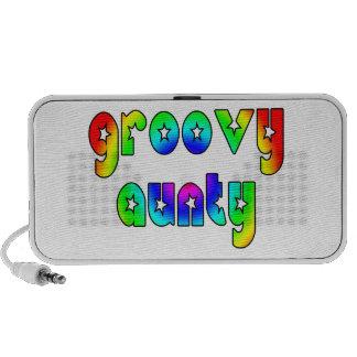 Cool Aunts Christmas & Birthdays : Groovy Aunty Notebook Speakers