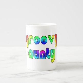 Cool Aunts Christmas & Birthdays : Groovy Aunty Tea Cup