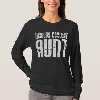 Cool Aunty Aunts Aunties : Worlds Coolest Aunt T-Shirt