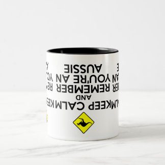 Cool Australia Two-Tone Coffee Mug