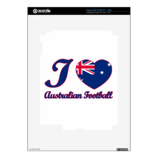 cool Australian Football fan DESIGNS Decal For The iPad 2