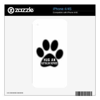 Cool Australian Shepherd Designs Skins For iPhone 4S