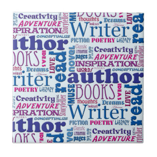 Cool Authors Pattern Tile