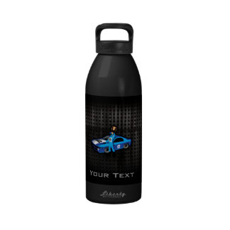 Cool Auto Racing Drinking Bottle