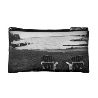Cool Autumn Day on the Water Makeup Bag