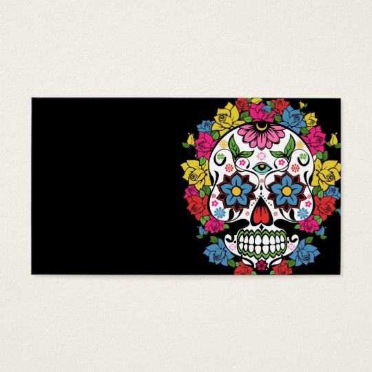 cool awesome colourful swirls dots flowers skull zazzle com