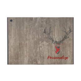 Cool awesome funny trendy deer sketch iPad mini cover
