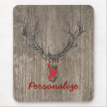 Cool awesome funny trendy deer sketch mousepad