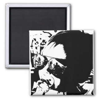 Cool Baby 2 Inch Square Magnet