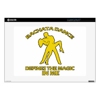 cool Bachata dance designs Laptop Decals