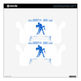 Cool BACHATA dance designs PS3 Controller Decal