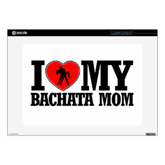 "cool Bachata  mom designs Decal For 15"" Laptop"