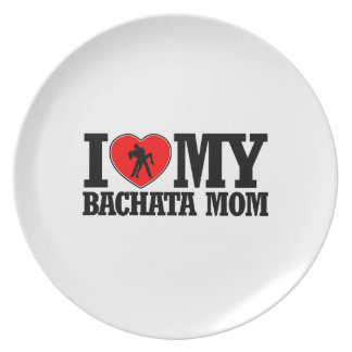 cool Bachata  mom designs Melamine Plate