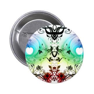 cool background FANTASY Pinback Button