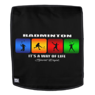 Cool Badminton It Is A Way Of Life Backpack