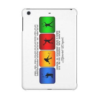 Cool Badminton It Is A Way Of Life iPad Mini Case