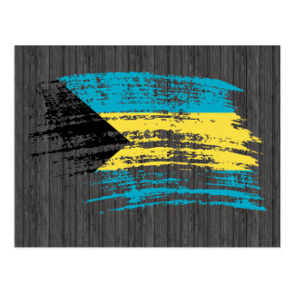 Cool Bahamian flag design Postcard