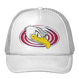 Cool Bald Eagle USA Trucker Hat