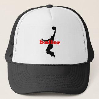 cool baller trucker hat