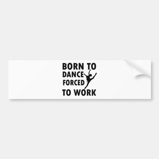 Cool ballet dance Designs Bumper Stickers