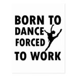 Cool ballet dance Designs Postcards