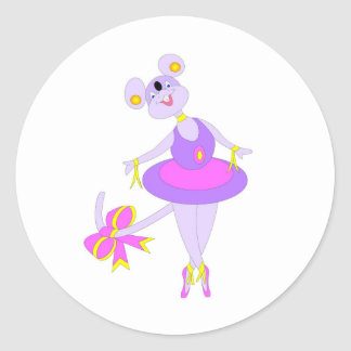 Cool Ballet gifs for kids Classic Round Sticker